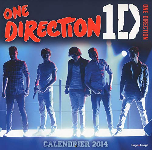 Calendrier mural One Direction 1D 2014 par Collectif