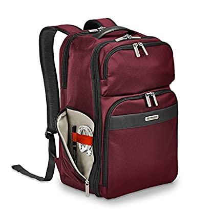 """51cc%2ByQRIeL. SS416  - Briggs & Riley Transcend Cargo Backpack, 17"""", 24.5 litres, Slate Mochila tipo casual, 46 cm, liters, Gris (Slate)"""