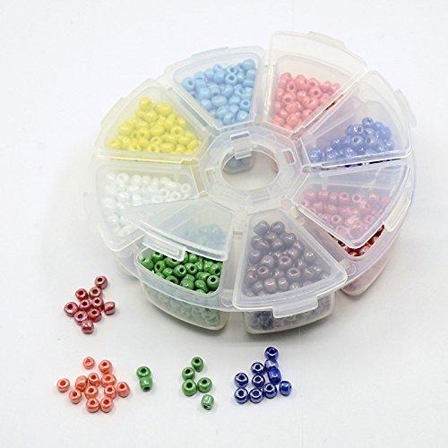 bastel-express-mix-di-perline-in-box-di-plastica-4-mm-diy