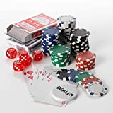 11,5 g, 500 Poker Set Casino Dice, motivo: fiche da Poker in custodia di alluminio per Poker CHIP distribuzione