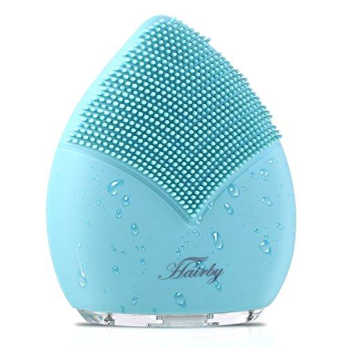 HAIRBY Gesichtsreinigungsbürste Silikon elektrisch Gesichtsbürste Silikon Gesichtsmassagegerät...