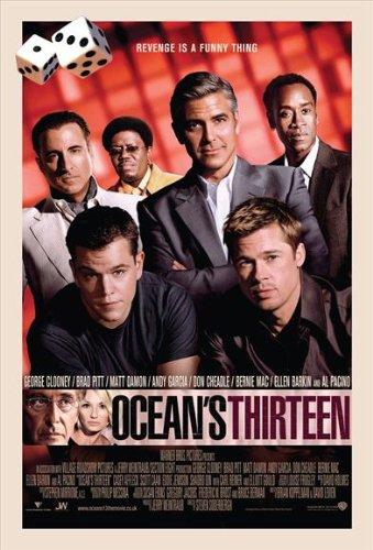 Ocean's Thirteen Plakat Movie Poster (27 x 40 Inches - 69cm x 102cm) (2007) F