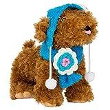 CueCue Pet Hunde Katze Mütze Cappy Hundehut Basecap Hundemütze Hundekleid mit Scarf (Blau)