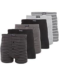 FLOSO - Boxers (lot de 6) - Homme