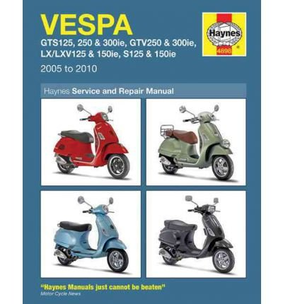 [(Vespa GTS/GTV, LV/LXV & S, 125, 250 & 300: 2005-2010)] [ By (author) Matthew Coombs ] [March, 2011]