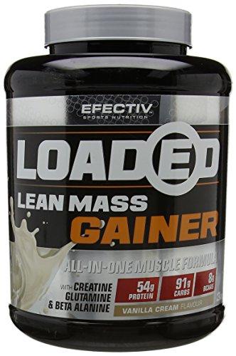Efectiv Sports Nutrition 3 kg Vanilla Loaded Supplements