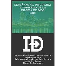 Enseñanzas, Disciplina y Gobierno de la Iglesia de Dios 2016