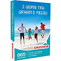 Idea Regalo - Emozione3 - Cofanetto Regalo - 2 GIORNI TRA GRANDI E PICCOLI - 865 soggiorni per grandi e piccoli con 1 notte e 1 colazione in affascinanti dimore, Hotel