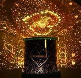tankerstreet Projektor Nacht Lampe LED Star Light Nachtlicht Projektor Highlight Star Light Valentinstag Weihnachten Geschenk