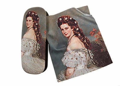 artis-vivendi-9600-glasses-case-and-lens-cleaning-cloth-in-decorative-empress-elisabeth-miro-gift-bo