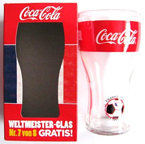 Coca-Cola - Weltmeister Glas - Frankreich - zur WM 2014