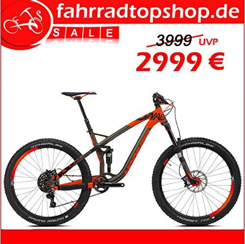 'NS Bikes snabb T1650B Enduro all MTN/Trail Expert 27,511SPD SRAM GX RH: M