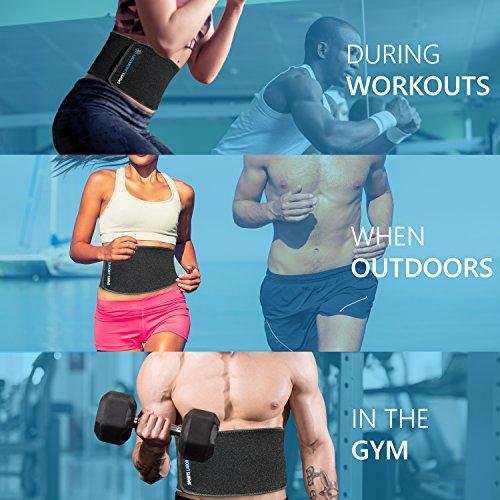 Zoom IMG-3 sports laboratory fascia dimagrante cintura