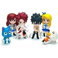 Fairy Tail AMZ Fan Collection Plush Figura de Acción Merchandise Toy Gift Set Manga Anime (Standing Set A) - Peluches y Puzzles precios baratos