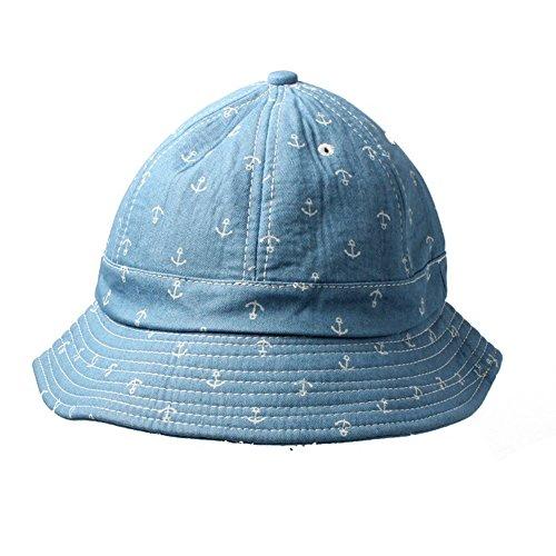 Anker-Pastellblau-Hut