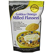 NIL Virginia Harvest Golden Omega Milled Flaxseed, 450g
