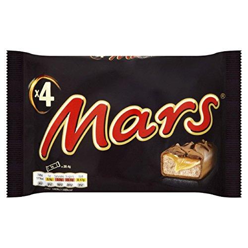 Mars Chocolate Bar Multipack, 4 x 39.4 g