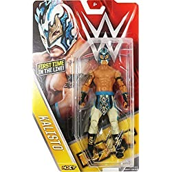 WWE KALISTO Serie Basic 60 - nuovo in stock wrestling figure