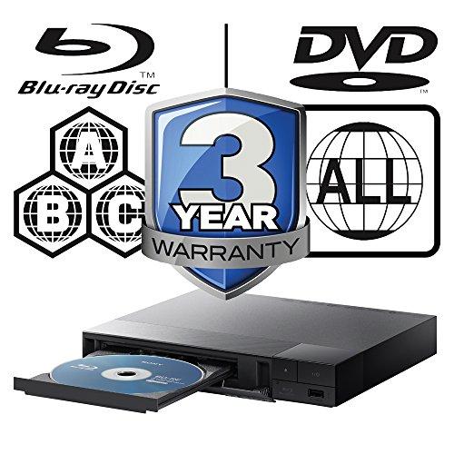 51ccA9s1FoL. SS500  - 2015 SONY BDP-S1700 Multizone All Region Code Free DVD Blu ray Player