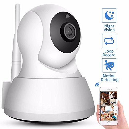 YTBLF Home Security IP-Kamera Wi-Fi 720P Wireless Network CCTV-Kamera Überwachungskamera P2P Nachtsicht Babyphone Und Babyphone
