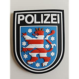 ATG Ärmelabzeichen Police Thüringen 3D Rubber Patch (Colour)