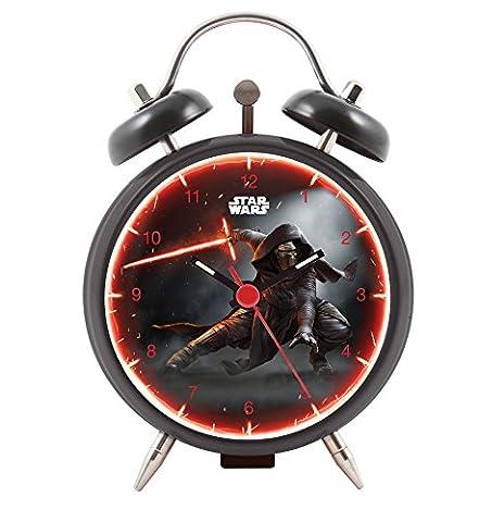Joy Toy 27381 8 cm Star Wars Kylo Ren Metal Analog Clock in Gift Wrap