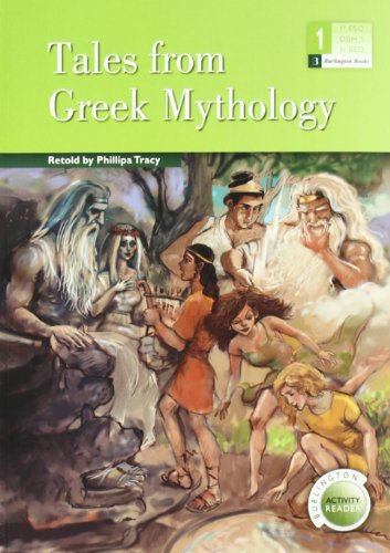 TALES FROM GREEK MYTHOLOGY 1§ESO BRN por Aa.Vv.