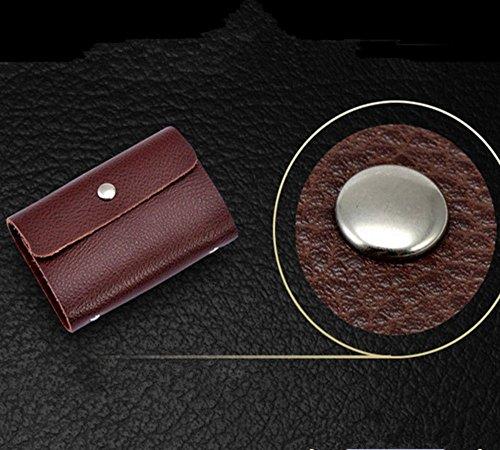 Eysee, Poschette giorno donna Rosso Rose 10.50cm*7.20cm*1.00cm Caffè