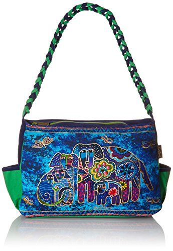 laurel-multi-clip-catcheur-laurel-catcheur-medium-hobo-sac-fermeture-eclair-haut-14-1-2-par-4-1-2-12