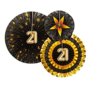 Neviti 773802Glitz y Glamour edad 21verde, negro/oro