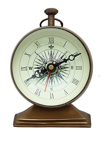 Regali di Natale annata bussola orologio da tavolo per la casa Accessori artisticly Realizzato