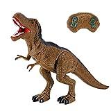 RC Simulation von largedinosaur, mamum Dinosaurier Spielzeug RC Walking Dinosaurier Spielzeug Geräusche macht Lights Sounds Fast Forward Funktion Einheitsgröße B