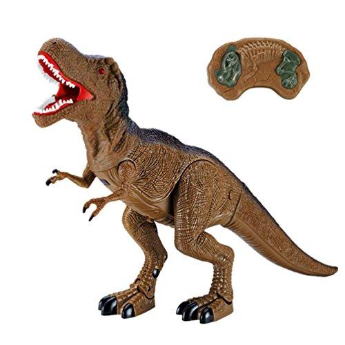 �er Dinosaurier von Mamum, Dinosaurier-Spielzeug, geht vorwärts und macht Geräusche, mit Lichteffekten Einheitsgröße B ()