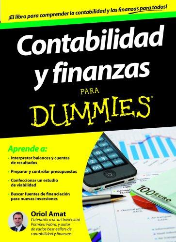 Contabilidad y finanzas Para Dummies