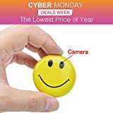 Smiley Face DVR Hidden Spy Mini Cam Recorder Camera 4GB CARD SUPPLIED AND AV LEAD