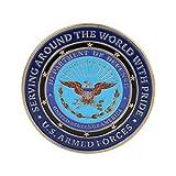 cicianco US Five Army Gedenkmünzen Souvenirs Kunstwerke Sammlerstücke Autodekoration Sammlergeschenke zum Gedenken