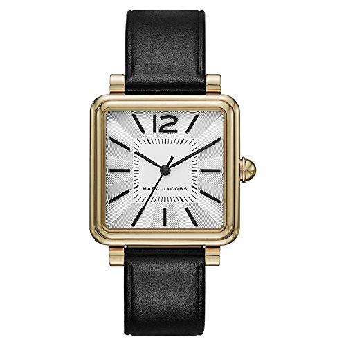 Marc by Marc Jacobs Damen Analog Quarz Uhr mit Leder Armband MJ1437