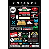 Friends Grupo Erik Editores Poster (Infographic)