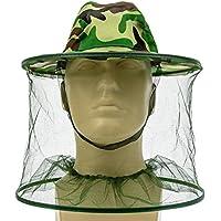 Jspoir Melodiz Camuflaje Apicultura Apicultor antimosquitos Pesca y Camping mosquitero Sombrero