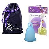 Me Luna Coupe menstruelle Soft, bague, cyan, Taille M