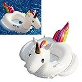 Kinder aufblasbare Einhorn Pool-Schwimmer-Kind-Einhorn-Schwimmen-Ring-aufblasbares Schwimmer Spielzeug Wasserspielzeug
