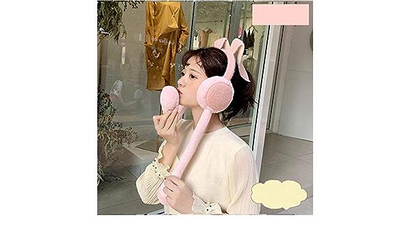 FTYYSWL Ohrensch/ützer werden sich bewegen Hasenohren Winter weiblich warme Ohrensch/ützer Kinder Cartoon niedlich Ohrwickel Ohrw/ärmer Ohrschutz A