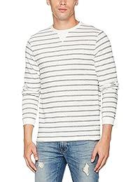 Tommy Hilfiger Iggy Stp C-Nk L/S Rf, T-Shirt Homme