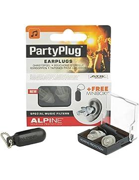 Alpine PartyPlug 2015 Tappi per Orecchie per Musica, Trasparente