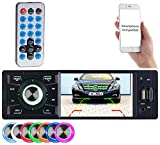 Creasono Autoradios: MP3-Autoradio mit TFT-Farbdisplay, Bluetooth, Freisprecher, 4 x 45 Watt (Autoradios 1 Din, Bluetooth)