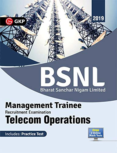 BSNL (Bharat Sanchar Nigam Limited) 2019 - Management Trainee - Telecom Operations