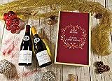 Coffret Cadeau Vins Noël'Couronne' (Italien) + 2 bouteilles de cotes de Beaune Village Rouge et saint Véran Blanc
