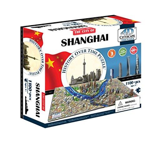 4D Cityscape 40040 - Shanghai, China Puzzle