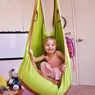 femor Hamaca de Jardín Exterior Hamaca para Familia Interior Hamaca para Camping al Aire Libre Diseño