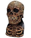 Horror-Shop máscara de calavera azteca